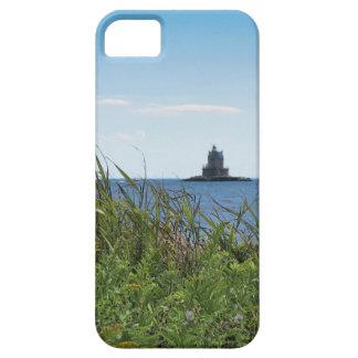 競争の石ライト電子工学の場合-漁師の島 iPhone SE/5/5s ケース