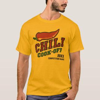 競争を離れた唐辛子の調理師 Tシャツ