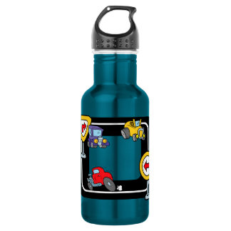 競技場の漫画車 ウォーターボトル