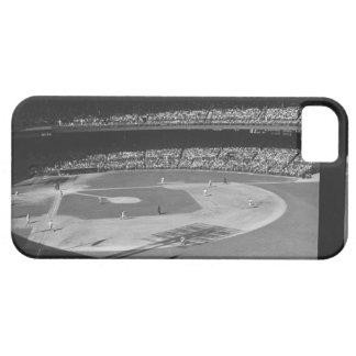 競技場の野球のマッチ iPhone SE/5/5s ケース