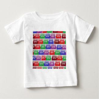 競技場のVastuのエンジニアリング ベビーTシャツ