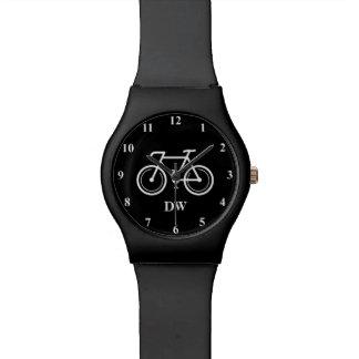 競輪選手のための自転車のモノグラムの腕時計のギフト 腕時計
