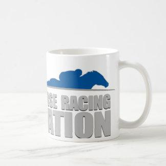 競馬の国家のマグ コーヒーマグカップ
