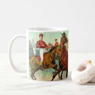 競馬馬1893年 コーヒーマグカップ