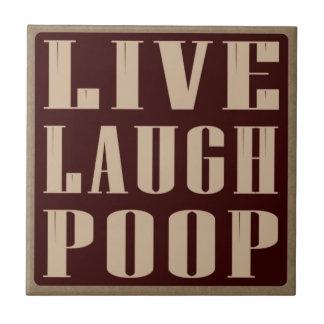 笑いのウンチのユーモアの発言は住んでいます タイル