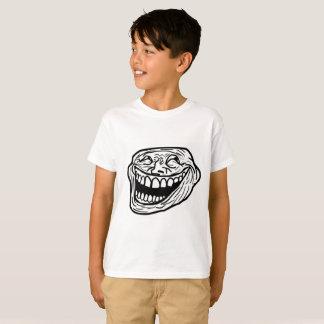笑いのミームの子供のHanes TAGLESS®のTシャツ Tシャツ