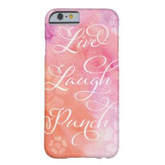 笑いの穿孔器の電話箱は住んでいます BARELY THERE iPhone 6 ケース