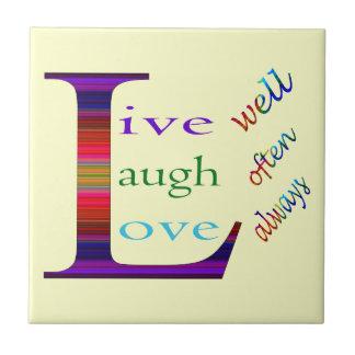 、笑いは頻繁によく住んでいましたり、STaylorによって常に愛します タイル