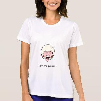 笑いは、私を結合します。 Tシャツ