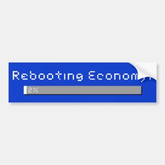 笑いを得るために経済を再起動します-本当に バンパーステッカー
