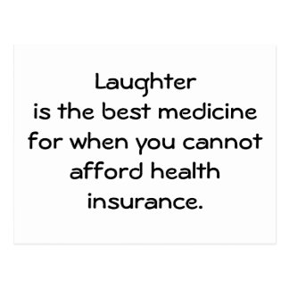 笑い声は最も最高のな薬のための時01です ポストカード