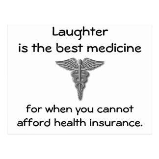 笑い声は最も最高のな薬のための時02です ポストカード
