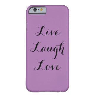 笑い愛は住んでいます BARELY THERE iPhone 6 ケース