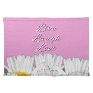 笑い愛花は住んでいます ランチョンマット