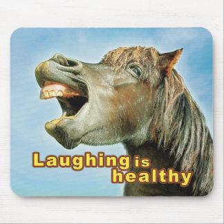 笑うことは健康です マウスパッド