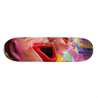 笑うピエロ スケートボード
