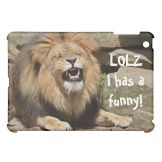 笑うライオンのiPad Miniケース iPad Miniカバー