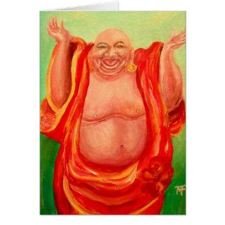 笑う仏の挨拶状 カード