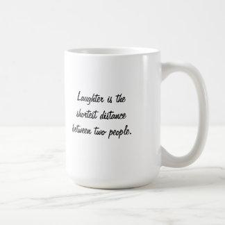 笑う馬のマグ コーヒーマグカップ