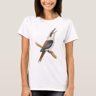 笑うKookaburraによって合われるベビードールのワイシャツ Tシャツ