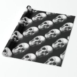 笑ったスカルの包装紙 ラッピングペーパー