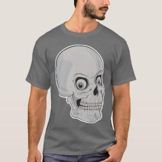 笑ったスカル Tシャツ