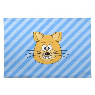笑った猫 ランチョンマット