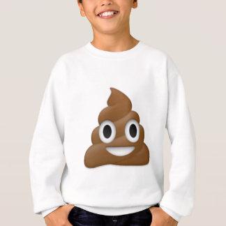 笑わされるなウンチemoji - Pooの漫画のデザイン スウェットシャツ