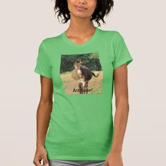 笑わされるな方法であなたの態度を示して下さい! Tシャツ