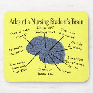 """笑わされるな看護学生の""""頭脳""""のギフト マウスパッド"""