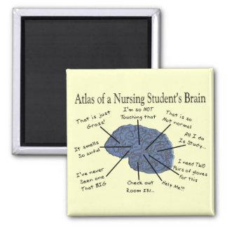 """笑わされるな看護学生の""""頭脳""""のギフト マグネット"""