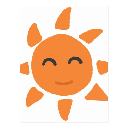 笑顔の太陽 ポストカード