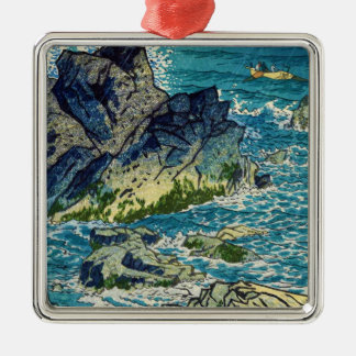 笠松町Shiro Inubozaki岬のwaterscapeのhanga メタルオーナメント