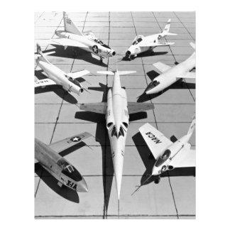 第一世代米国の実験航空機 レターヘッド