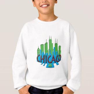 第一次シカゴのスカイラインのnewwave スウェットシャツ