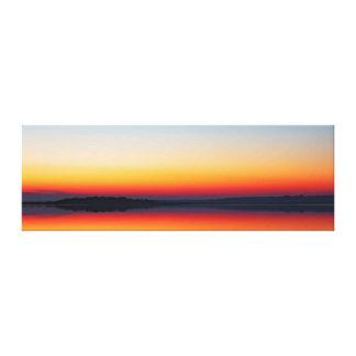 第一次抽象的概念-白鳥湾の日没 キャンバスプリント