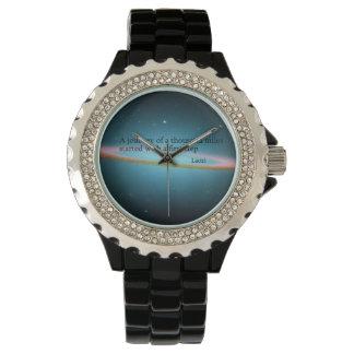 第一歩のLaoziの引用文の腕時計 腕時計