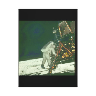 第一歩。 (astronaut_Space キャンバスプリント
