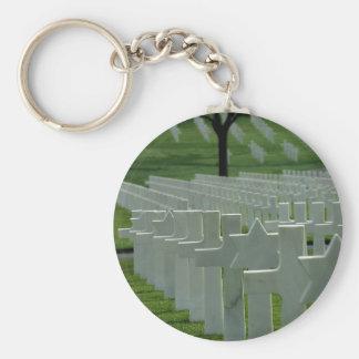 第二次世界大戦の墓地、メモリアルデー キーホルダー