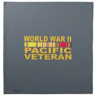 第二次世界大戦の太平洋の退役軍人 ナプキンクロス