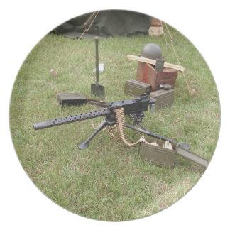 第二次世界大戦の機関銃 プレート