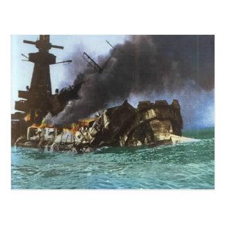 第二次世界大戦、グラーフのSpey沈降、モンテビデオ ポストカード