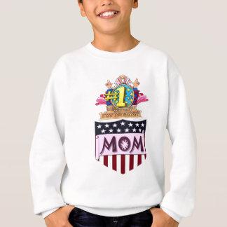 第1お母さん スウェットシャツ