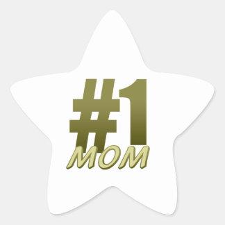 第1お母さん 星シール