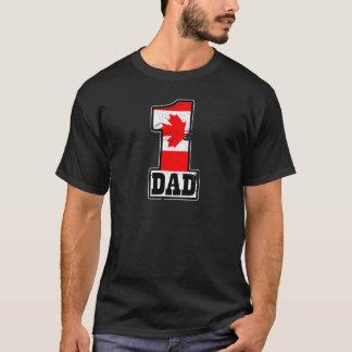 第1カナダのパパ Tシャツ