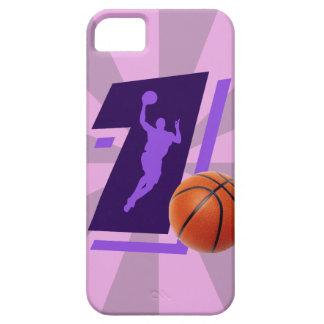 第1バスケットボールおよびプレーヤー iPhone SE/5/5s ケース