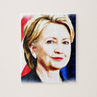 第1ヒラリー・クリントン2016_女性の大統領 ジグソーパズル