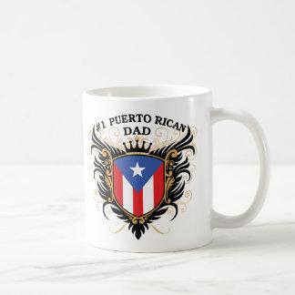 第1プエルトリコのパパ コーヒーマグカップ