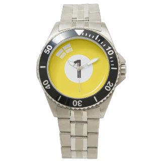 第1プール/ビリヤードボール 腕時計
