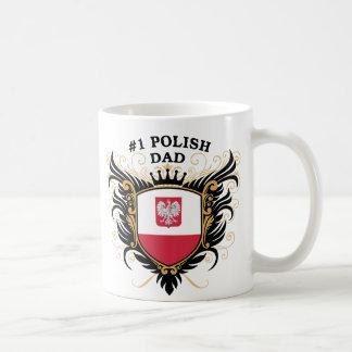 第1ポーランドのパパ コーヒーマグカップ